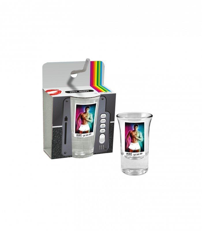 Szkło-HOT SHOT - Kieliszek 35 ml Mężczyźni