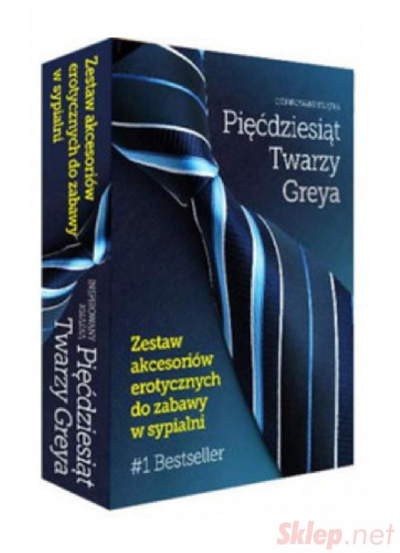 Gry-50 TWARZY GREYA Akcesoria Erotyczne