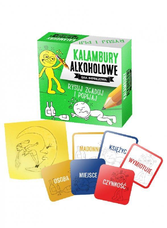 Gry-KALAMBURY ALKOHOLOWE-gra imprezowa
