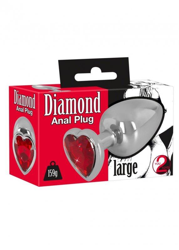 Plug-5327970000 Diamond Anal Plug-Wibrator