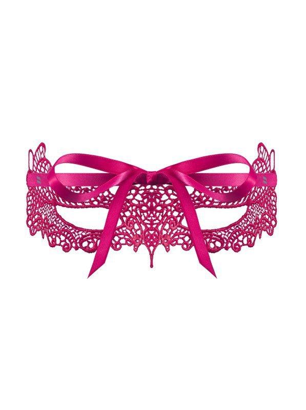 Bielizna-A701 maska różowa  O/S