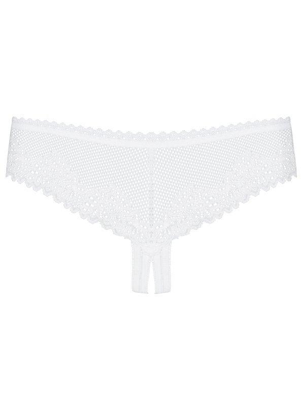 Bielizna-Alabastra stringi otwarte L/XL