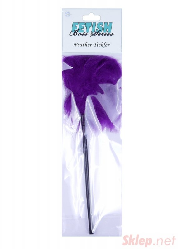 Feather Tickler Purple - Boss Series Fetish