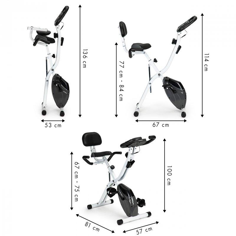 Rower stacjonarny magnetyczny składany MODERNHOME