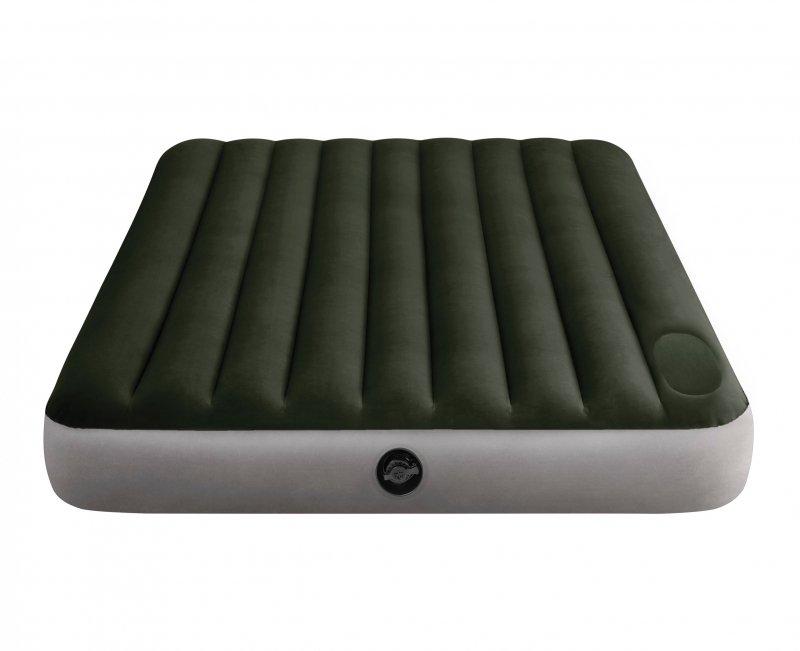 Duży materac dmuchany z pompką łóżko 2 osobowe INTEX 64763