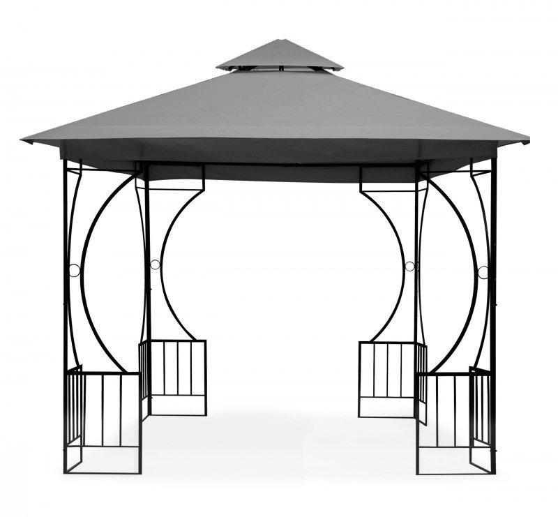 Namiot pawilon ogrodowy 2w1 ścianki moskitiera 3x3