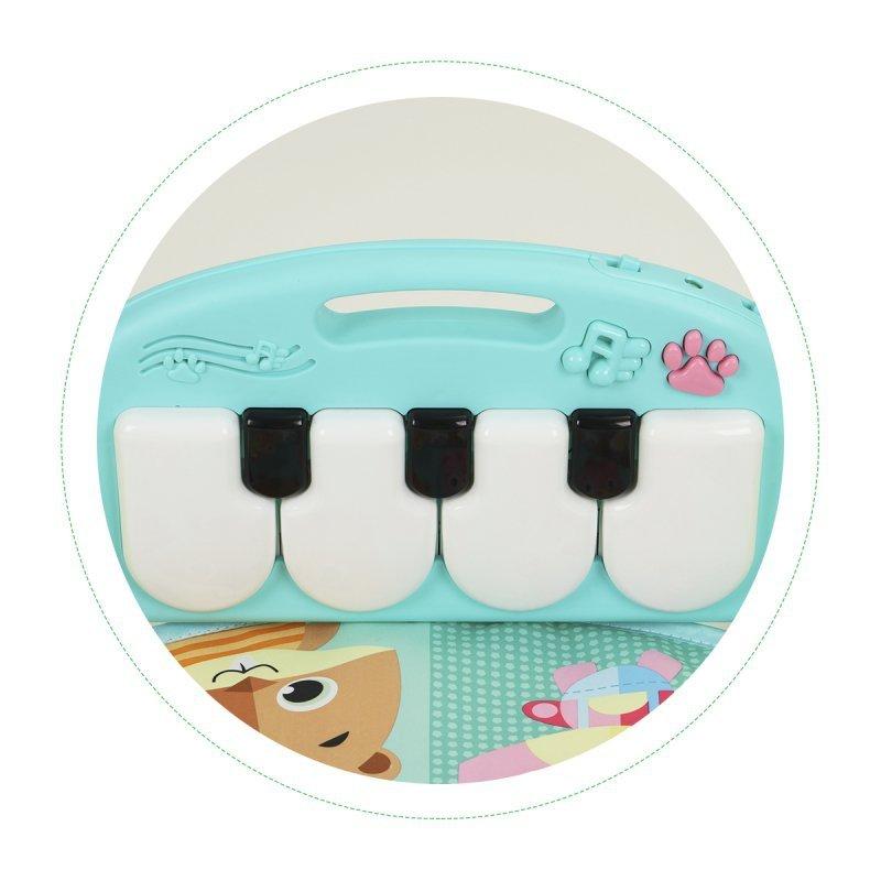 Mata edukacyjna dla niemowląt panel multimedialny