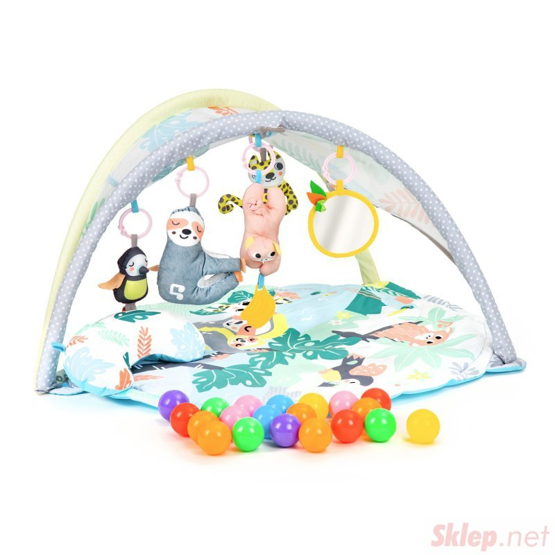 Mata edukacyjna dla niemowląt dźwięk zabawki piłki