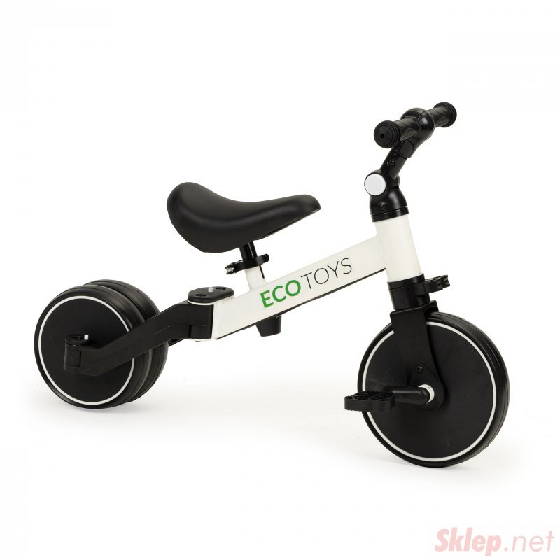 Rowerek biegowy 4w1 trójkołowy z pedałami