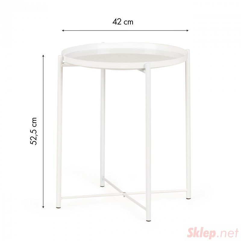 Stół kawowy ława stolik nocny biały nowoczesny