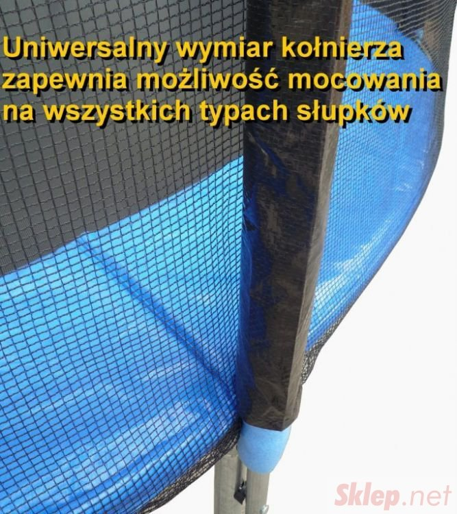 Zewnętrzna siatka do trampoliny 305cm 10ft/6 słupków