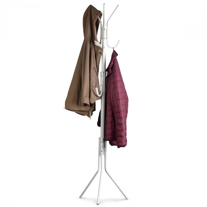 Podłogowy stojący wieszak stojak na ubrania odzież kurtki