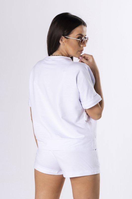 bawełniany zestaw bluzka i spodenki
