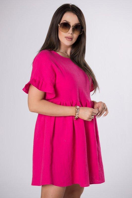 muślinowa sukienka