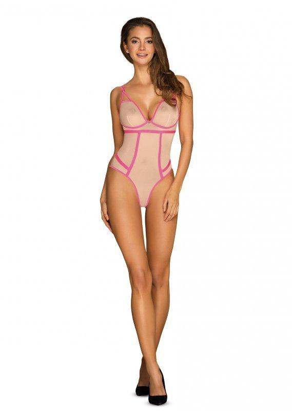Body Nudelia Beżowo-Różowe
