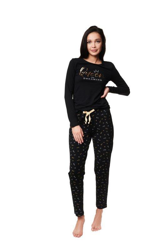 Piżama Zazzy 39223-99X Czarna