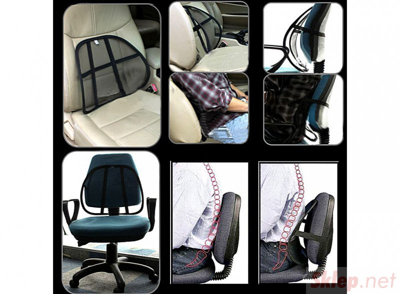 AG310 Podkładka ergonomiczna na krzesło