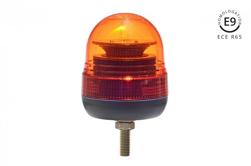 Lampa ostrzegawcza w02sb na śrubie  r65 r10 39led 12/24v ip56