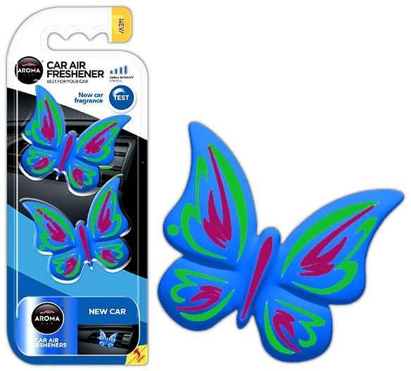 Odświeżacz powietrza aroma fancy shapes butterfly new car