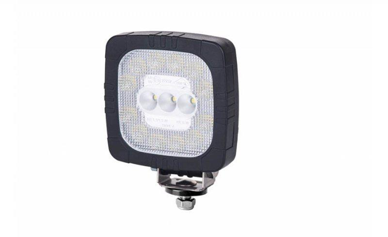 Lampa robocza hor 111, diodowa 12/24 v (przewód 2x0,75 mm2, długość 1,5 m, strumień świetlny 650 lm)