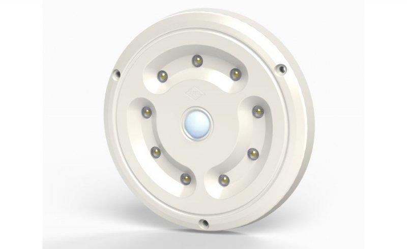 Lampa oświetlenia wnętrza hor 66, okrągła z czujnikiem ruchu, diodowa 12/24 v (nowy korpus)