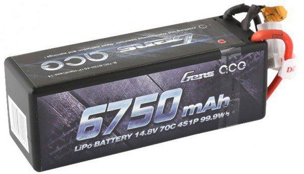 6750mAh 14.8V 70C HardCase Gens Ace