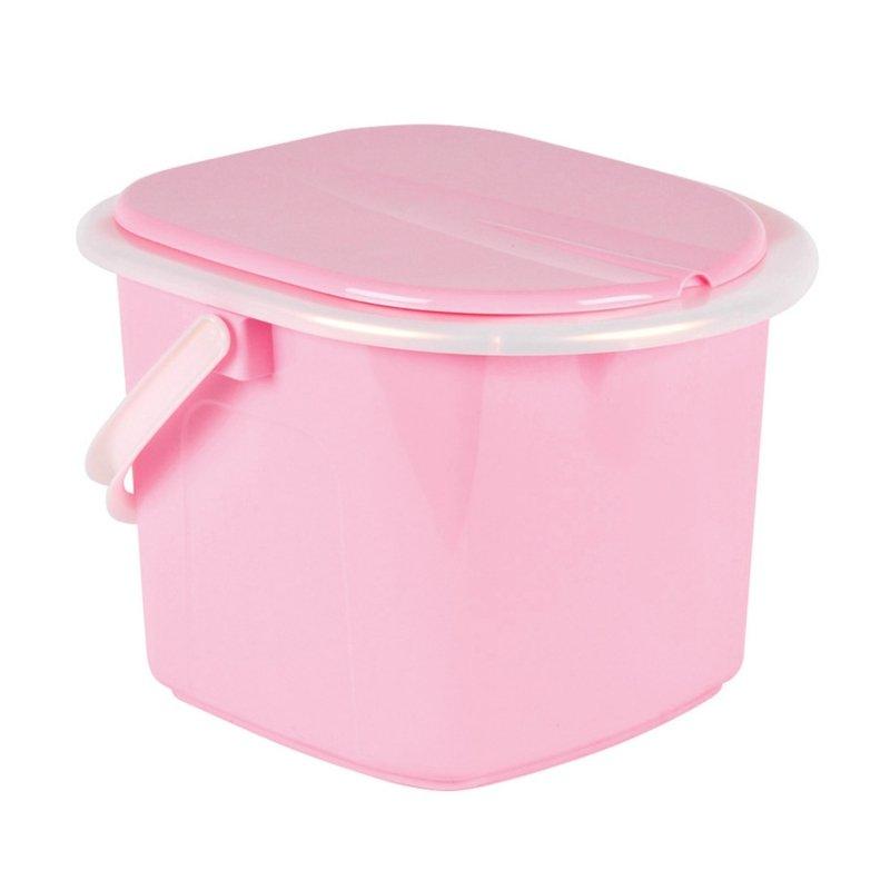 Toaleta turystyczna wiadro 15,5l BranQ różowa