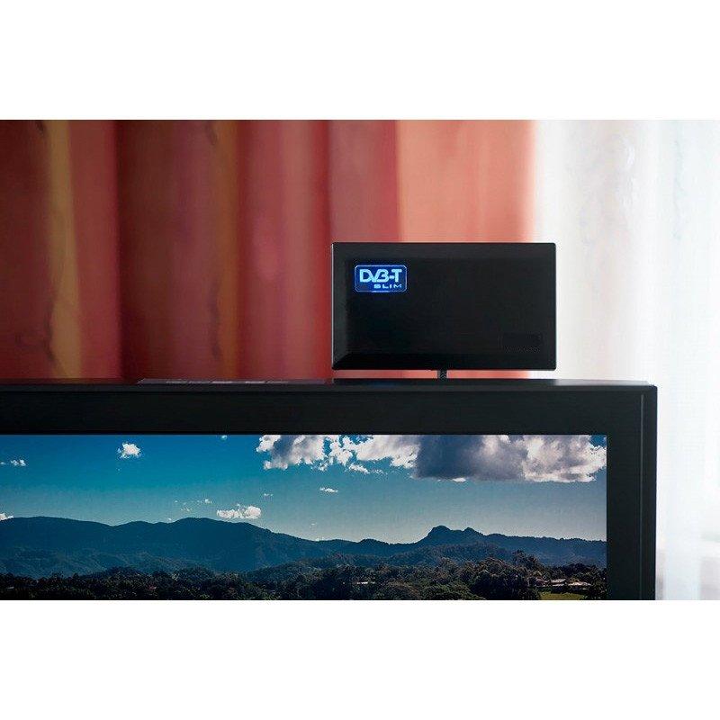 Antena aktywna pokojowa DVB-T Maclean Slim MCTV-948