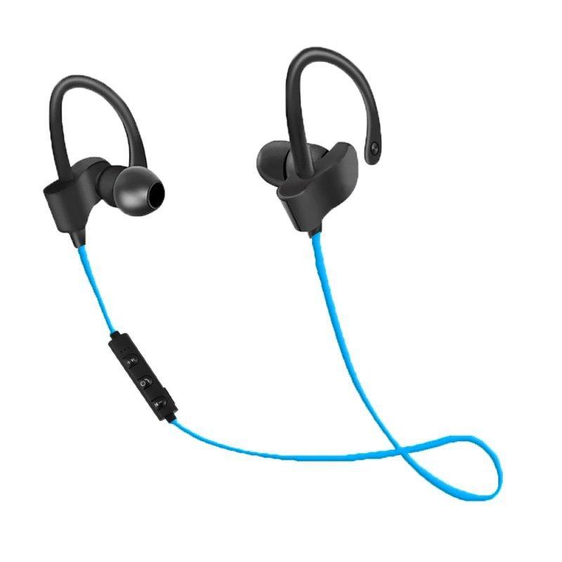 EH188B Esperanza słuchawki douszne bluetooth sportowe czarno-niebieskie