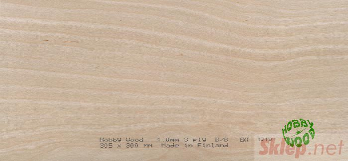 Sklejka brzozowa 0,6 x 600 x 1220 mm