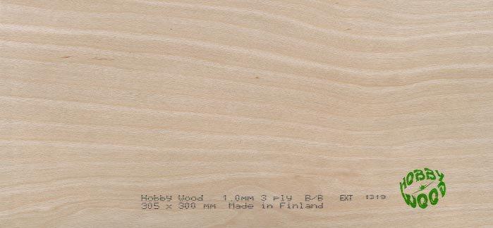 Sklejka brzozowa 4,5 x 300 x 1220 mm