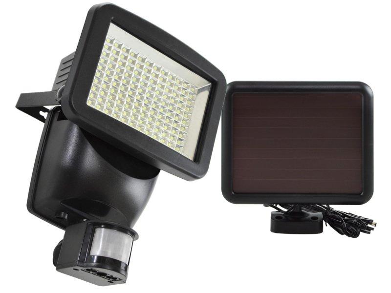 Lampa solarna naświetlacz led 120 diod smd z czujnikiem ruchu i zmierzchu
