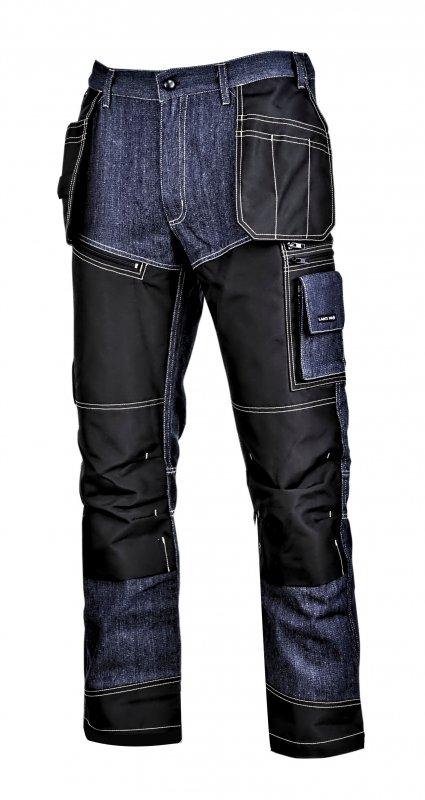 """Spodnie jeansowe niebieskie ze wzmocnieniami, """"l"""", ce, lahti"""