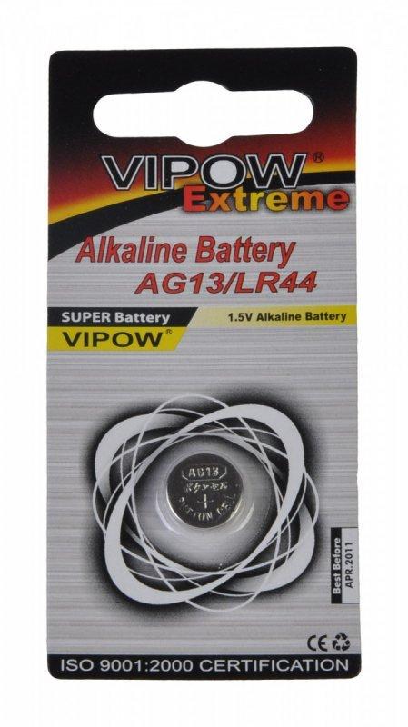 BAT0193 Bateria Vipow Extreme AG13 (1 sztuka/blister)