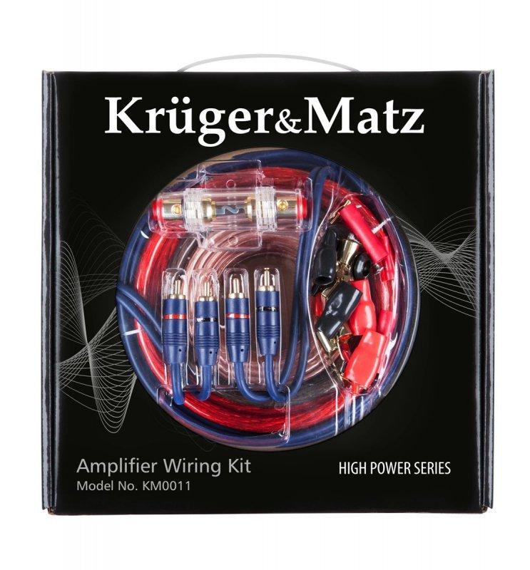 KM0011 Zestaw motażowy do wzmacniaczy Kruger&Matz