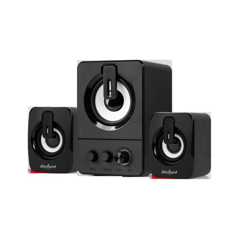 Głośniki komputerowe 2.1 Rebel CS-50