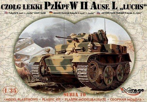 "PzKpfw. II Ausf L ""LUCHS"" Czołg Lekki"