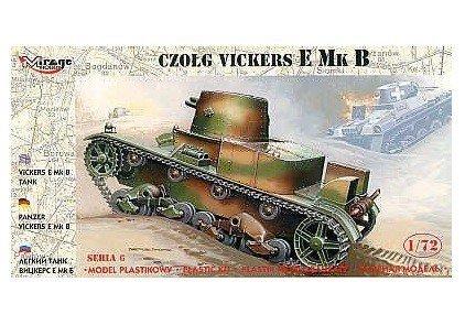 Vickers E Mk B Polski Czołg Jednowieżowy - 1:72