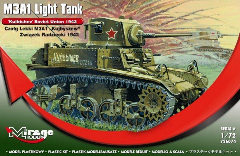 "M3A1 ""KUJBYSZEW"" ZSSR 1942 Czołg Lekki"
