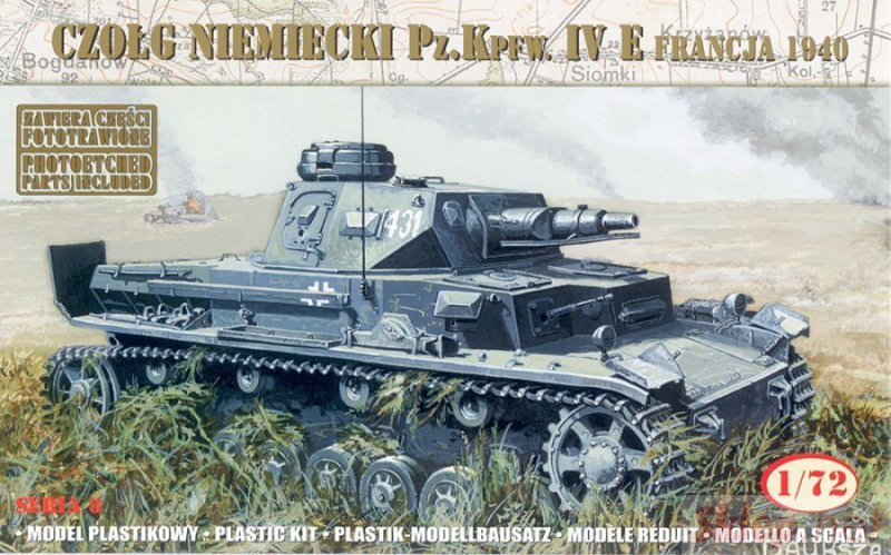 """German Tank Pz.Kpfw. IV Ausf. E """"France 1940"""""""