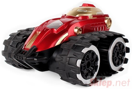 Samochód gąsienicowy 1:24 2.4GHz RTR - czerwony