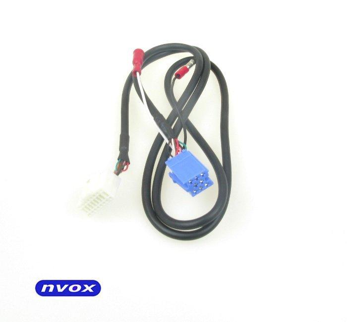 Zmieniarka cyfrowa emulator MP3 USB SD FIAT 8PIN... (NVOX NV1080A FIAT 8PIN)
