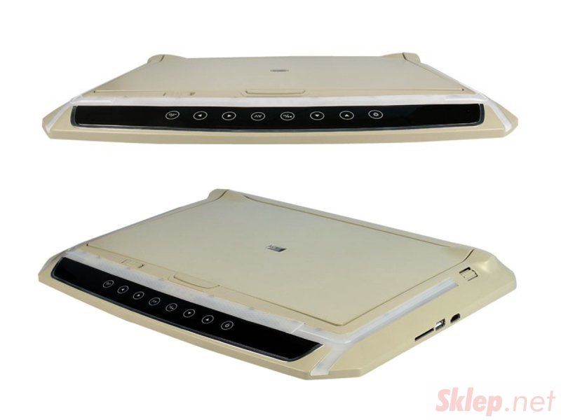 Monitor podwieszany podsufitowy LED 14cali HD HDMI USB SD AV FM 12V... (NVOX RFVT1405 BE)