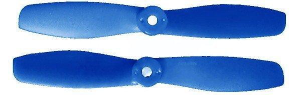 GEMFAN: Śmigła Gemfan Glass Fiber Nylon Bullnose 5x4.5 ciemny niebieski  (2xCW+2xCCW)