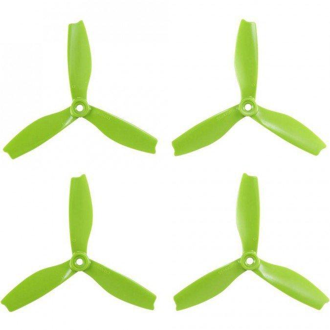 HQ Prop Quad 5X4X4 zielone  (2CW+2CCW) - włókno szklane