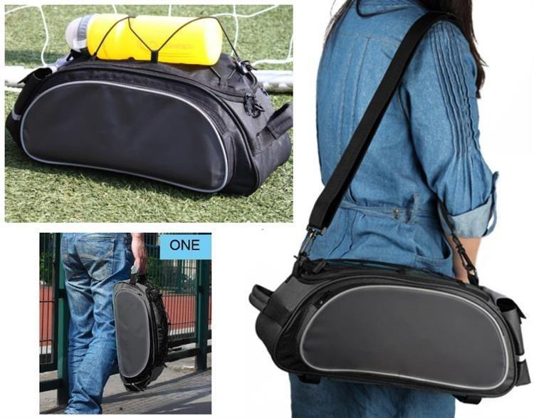RW2 Rowerowa torba na bagażnik / sakwa 2w1