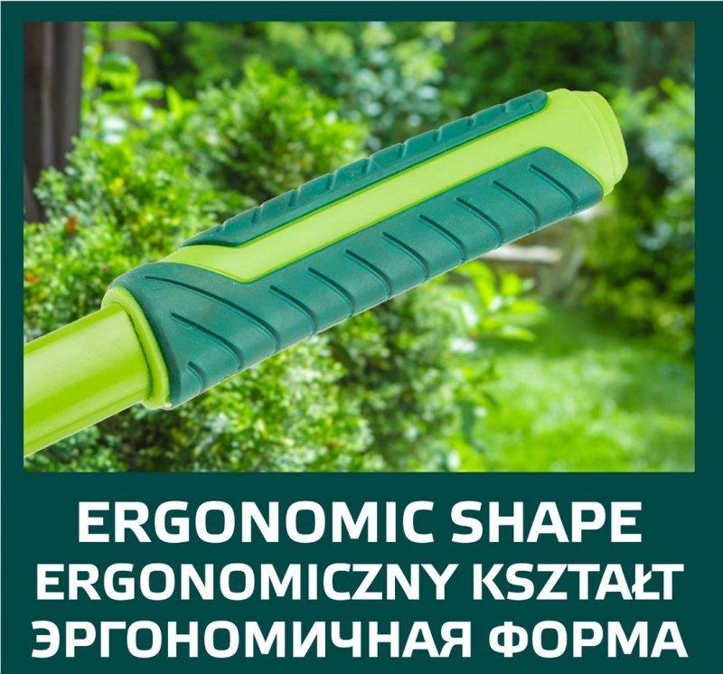 Nożyce do żywopłotu faliste 550 mm, ostrze 200 mm