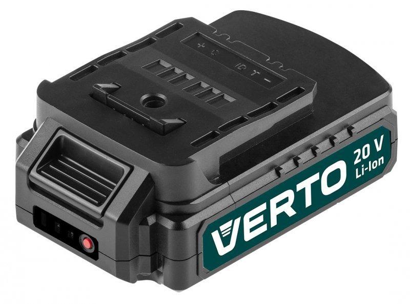 Wiertarko-wkrętarka akumulatorowa 2 x 20V, Li-Ion/1.5Ah, walizka
