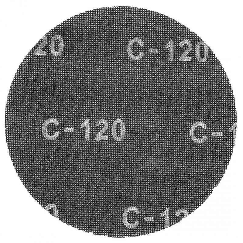 Siatka ścierna na rzep, 225 mm, K120, do szlifierki 59G260, 10 szt.