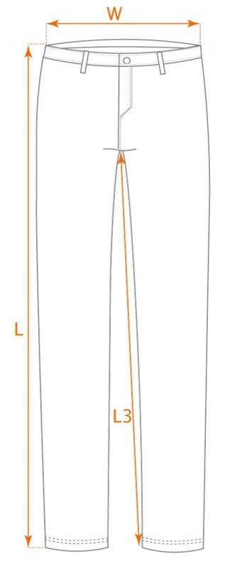 Krótkie spodenki Camo, rozmiar XL